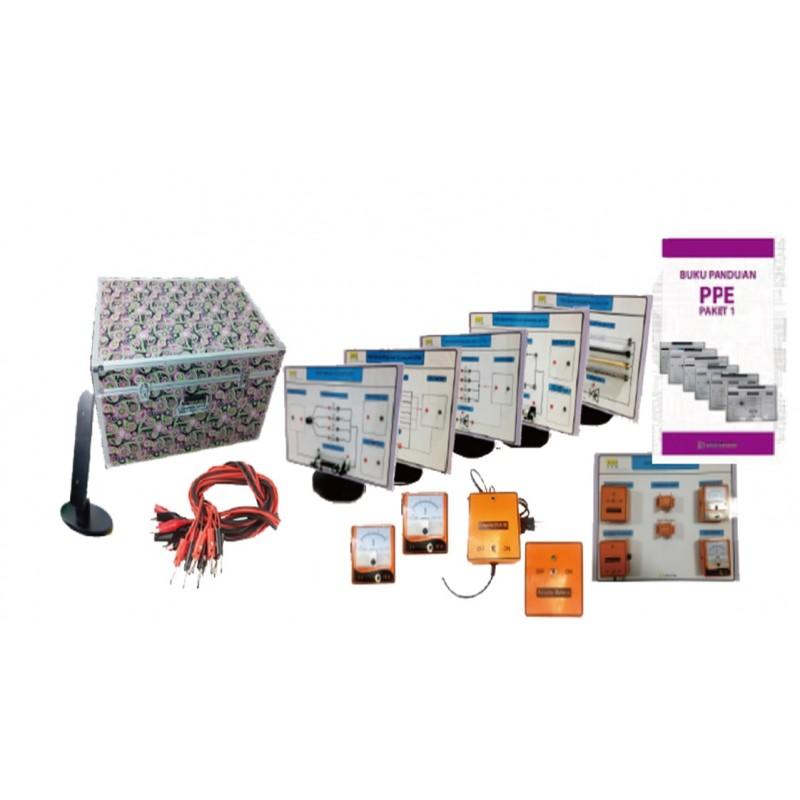 DJT - Papan Percobaan Elektronik (PPE) Listrik Dinamis, Prinsip Induksi Listrik, dan Induksi Magnetik