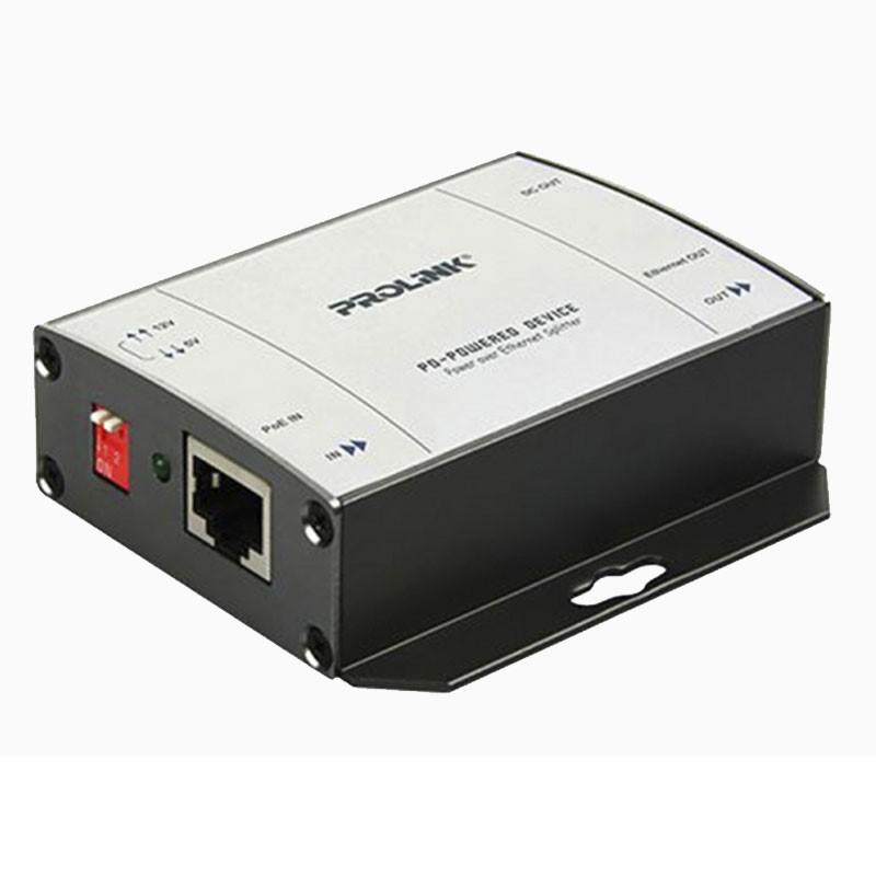 PROLINK - POE Splitter with Dual Output 5V/12VDC [PLE101P]