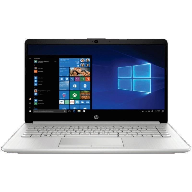 HP - Laptop 14s-dk0008AX (A9-9425/4GB/1TB/530 2GB/14inch/Win10H/Silver) [7DG00PA]