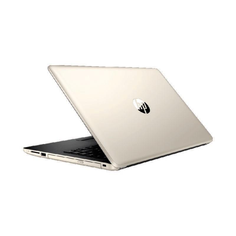 HP - Laptop 14s-dk0009AX (A9-9425/4GB/1TB/530 2GB/14inch/Win10H/Gold) [7DF98PA]