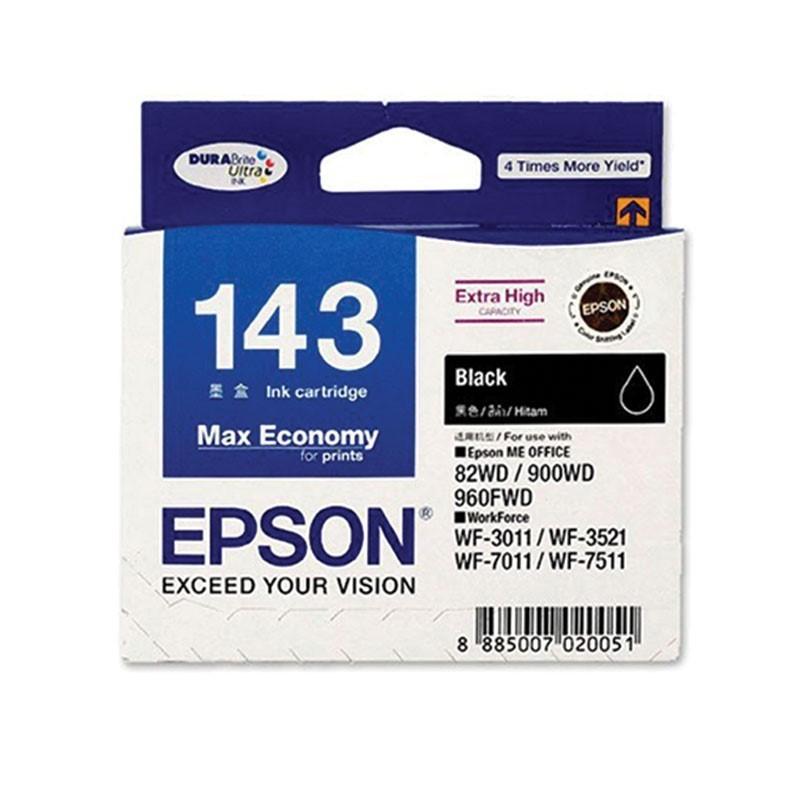 EPSON - Black Ink Cartridge - BIX2(TBS,L size) [C13T143190]