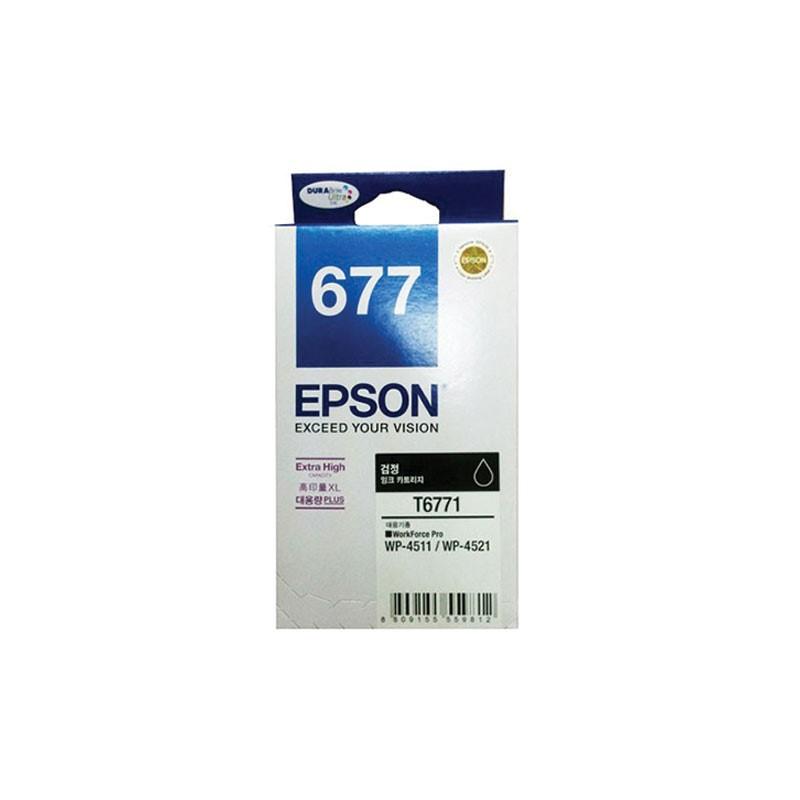 EPSON - HIGH CAP BLACK- WP4011/WP4511/WP4521 [C13T677190]