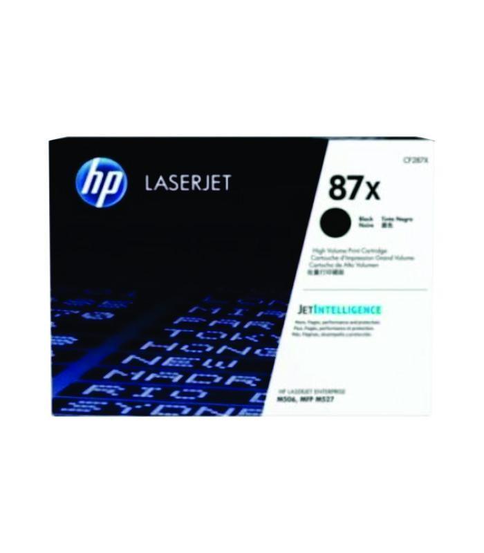HP - 87X Black LaserJet Toner Cartridge [CF287X]