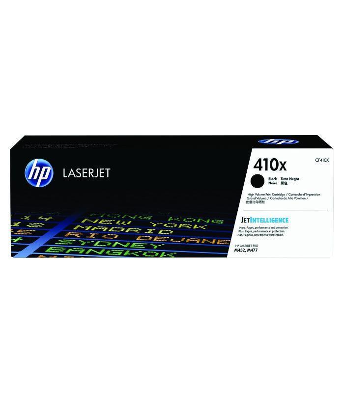 HP - 410X Black LaserJet Toner Cartridge [CF410X]