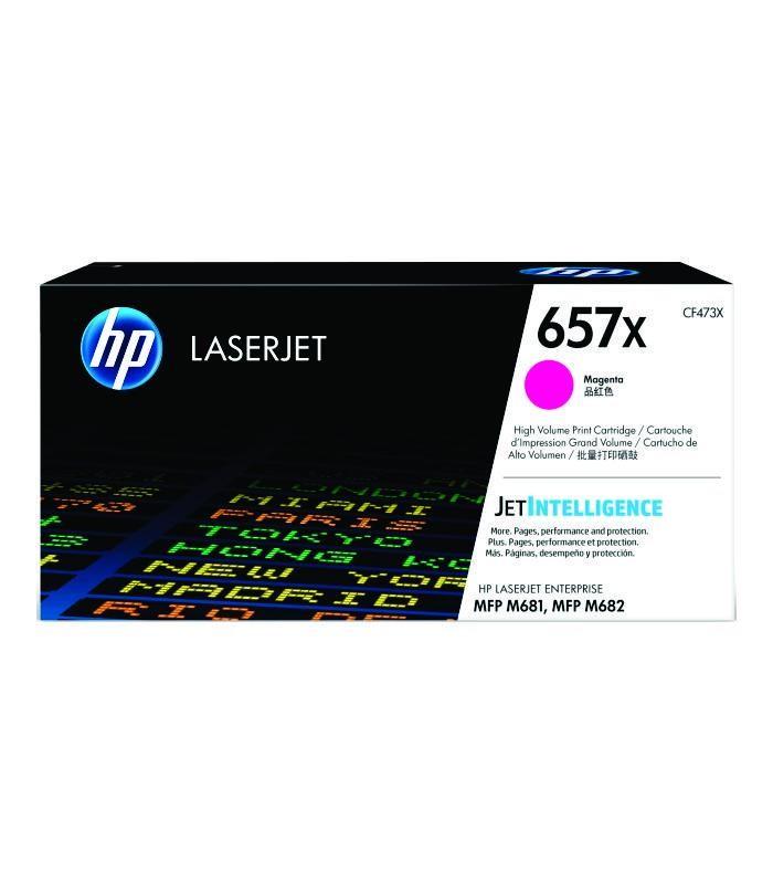 HP - 657X Magenta LaserJet Toner Cartridge [CF473X]