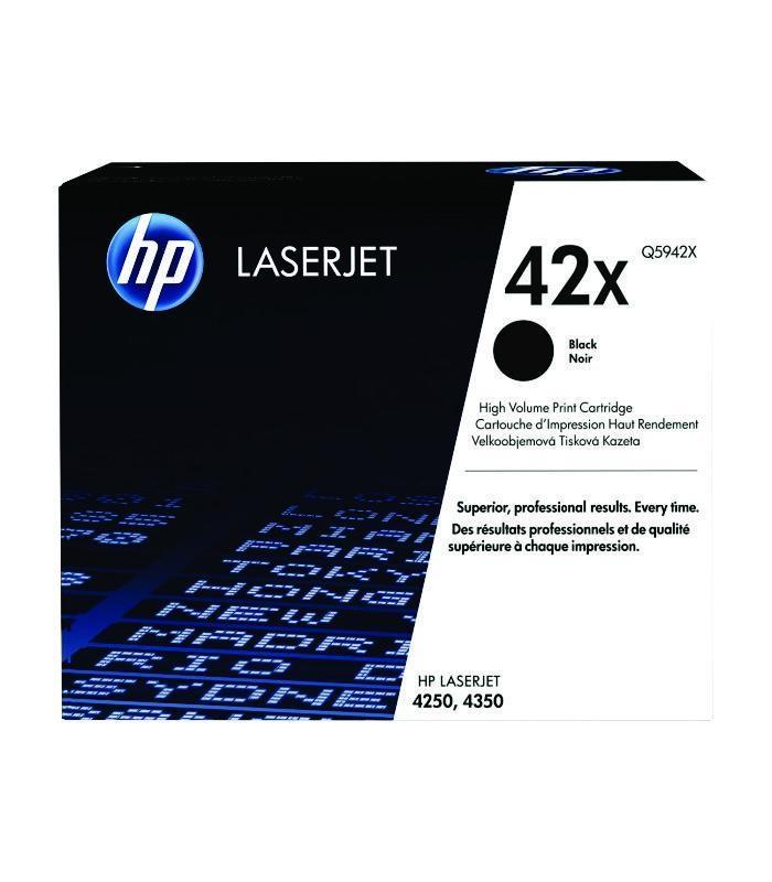 HP - Black Laserjet 4250 / 4350 Cartridge [Q5942X]