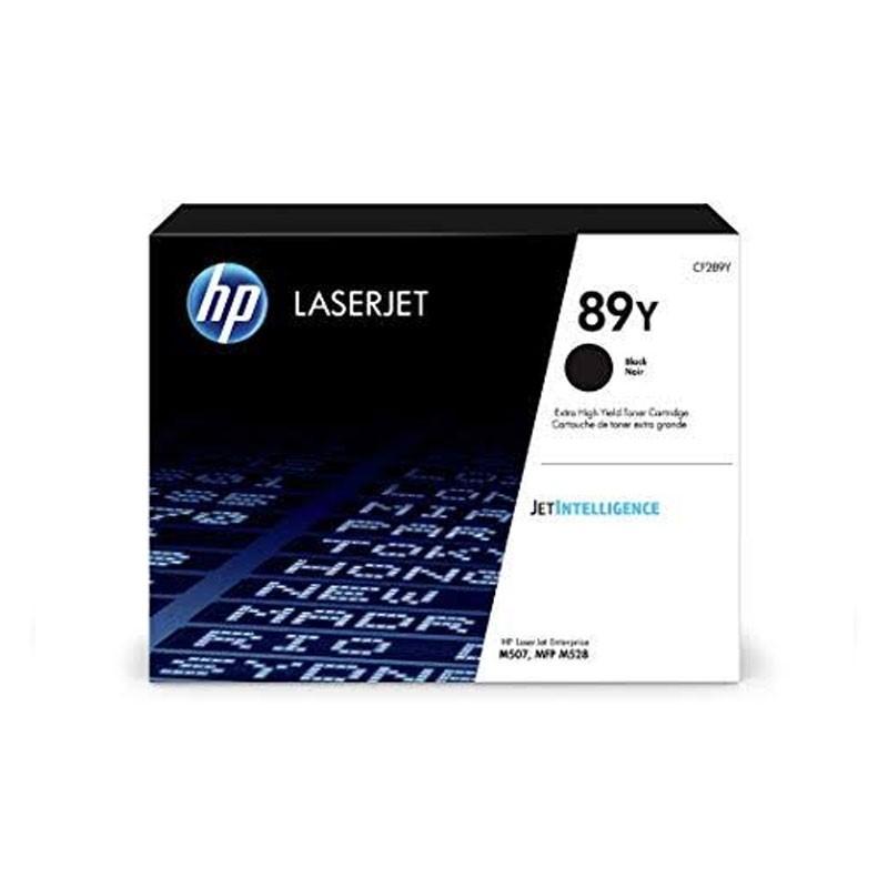 HP - 89Y Black LaserJet Toner Cartridge [CF289Y]