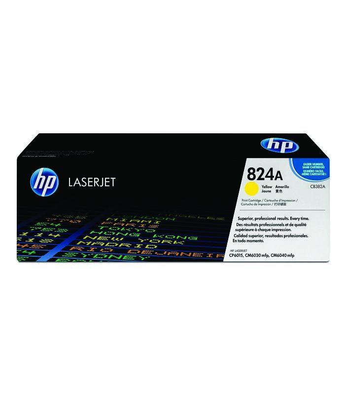 HP - CP6015/CM6040mfp Yellow Print Cartridge [CB382A]