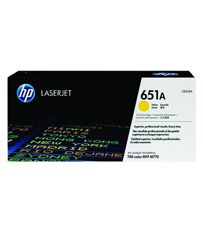HP - LaserJet 700 Color MFP 775 Ylw Cartridge [CE342A]