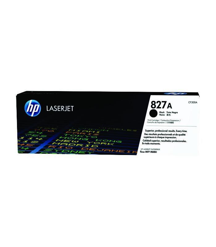 HP - 827A Black LaserJet Toner Cartridge [CF300A]
