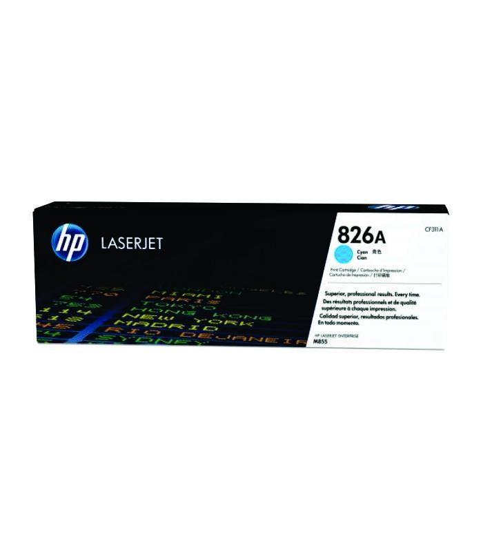 HP - 826A Cyan LaserJet Toner Cartridge [CF311A]