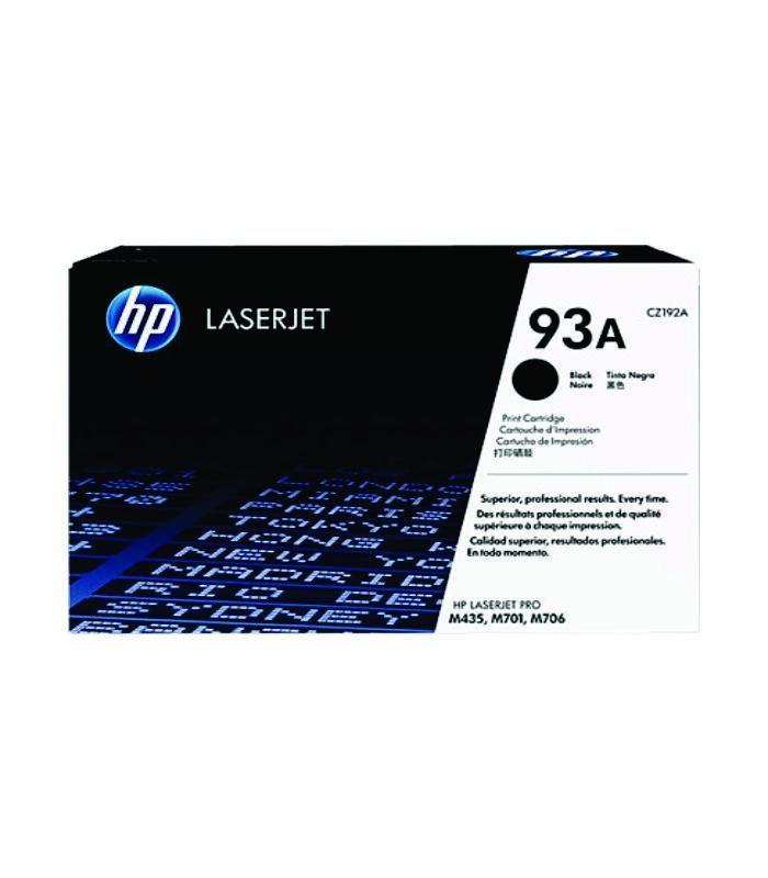 HP - 93A Black LaserJet Toner Cartridge [CZ192A]