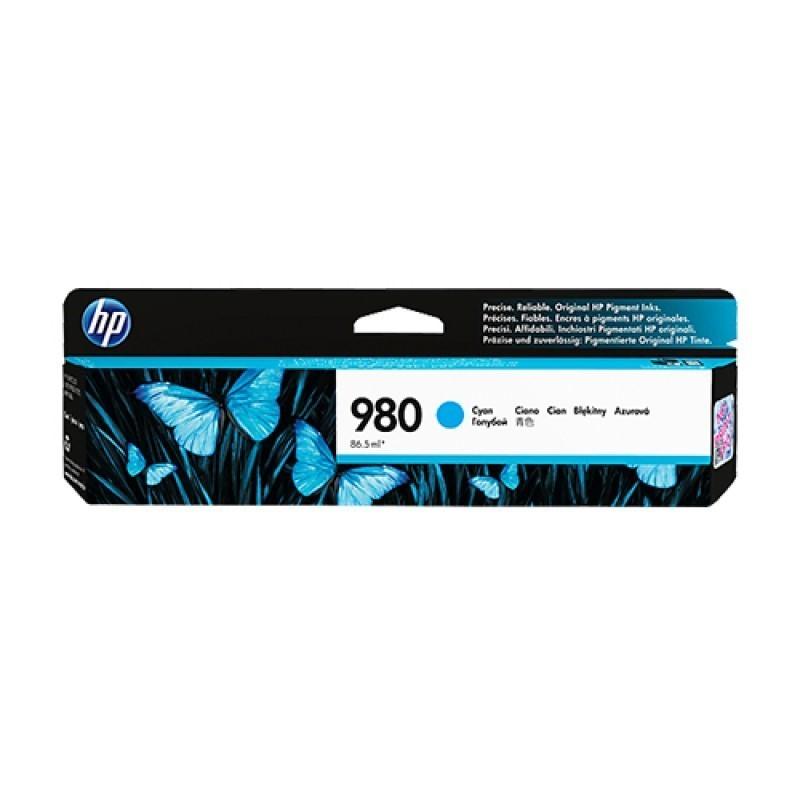 HP - 980 Cyan Original Ink Cartridge [D8J07A]