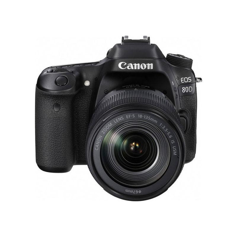 CANON - Digital EOS 80D Lens EF-S18-135 IS USM WiFi