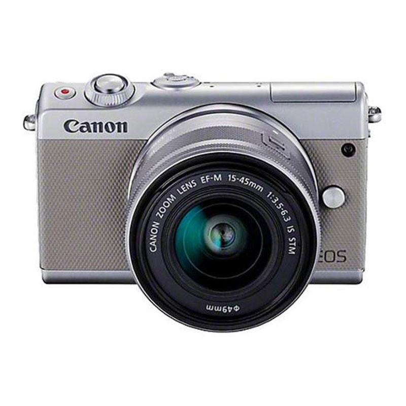 CANON - EOS M100 Mirrorless Digital 15-45mm Lens (Grey)