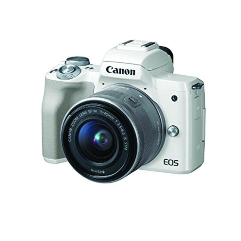 CANON - EOS M50 EF-M15-45mm White