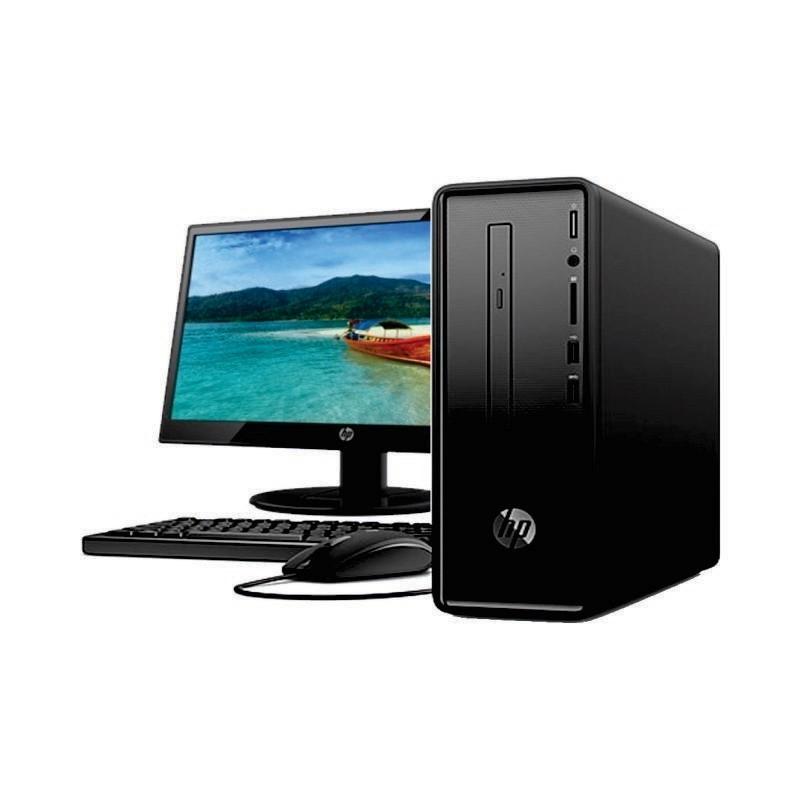 HP - PC Slimline 290-P0038L Desktop (INTEL/G5400/1T/4GB/LED 18.5inch/Win10P) [3JV92AA]