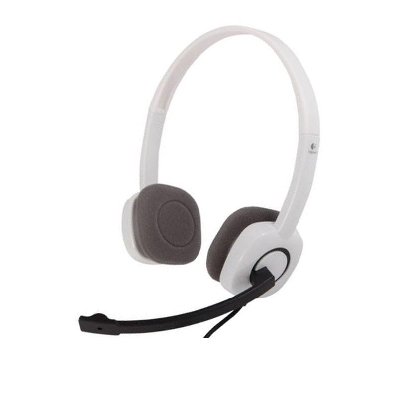 LOGITECH - H150 Cloud White Stereo Headset