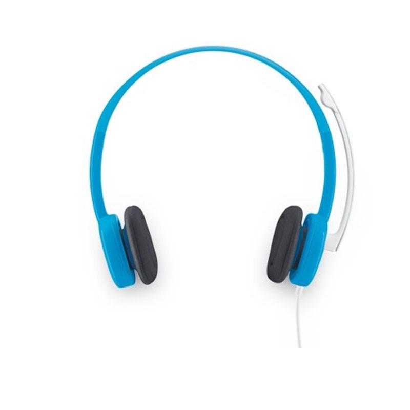 LOGITECH - H150 Sky Blue Stereo Headset