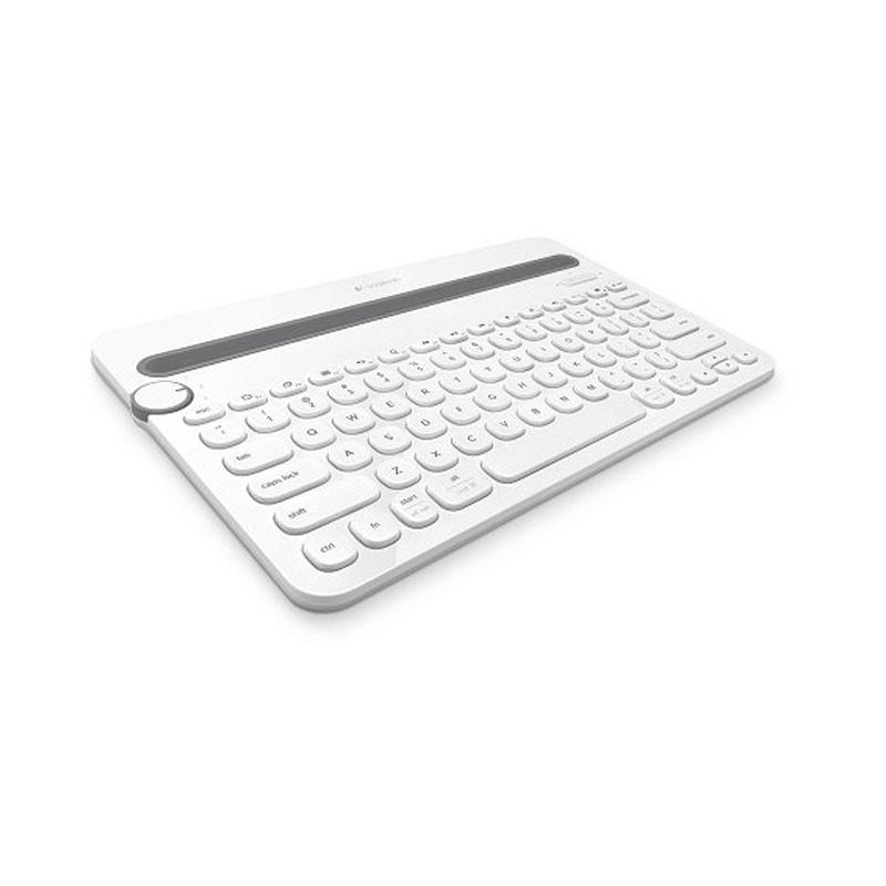 LOGITECH - K480 MultiDevice Keyboard White