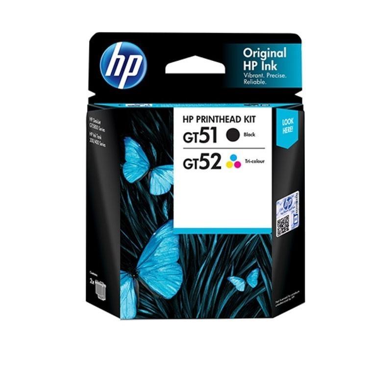 HP - GT51/52 Blk/Clr Printhead Combo 2-Pk [3JB06AA]