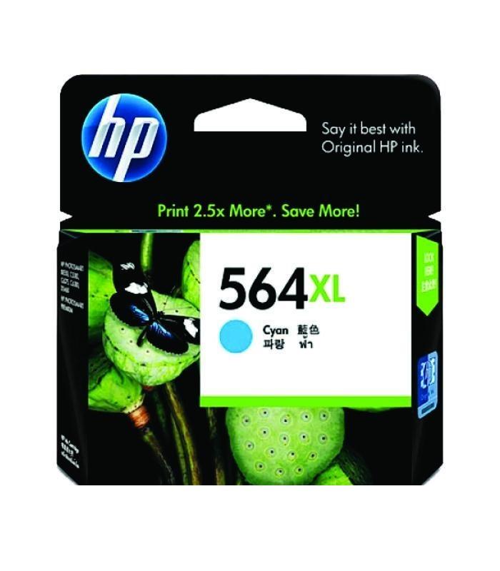 HP - 564xl Cyan Ink Cartridge [CB323WA]