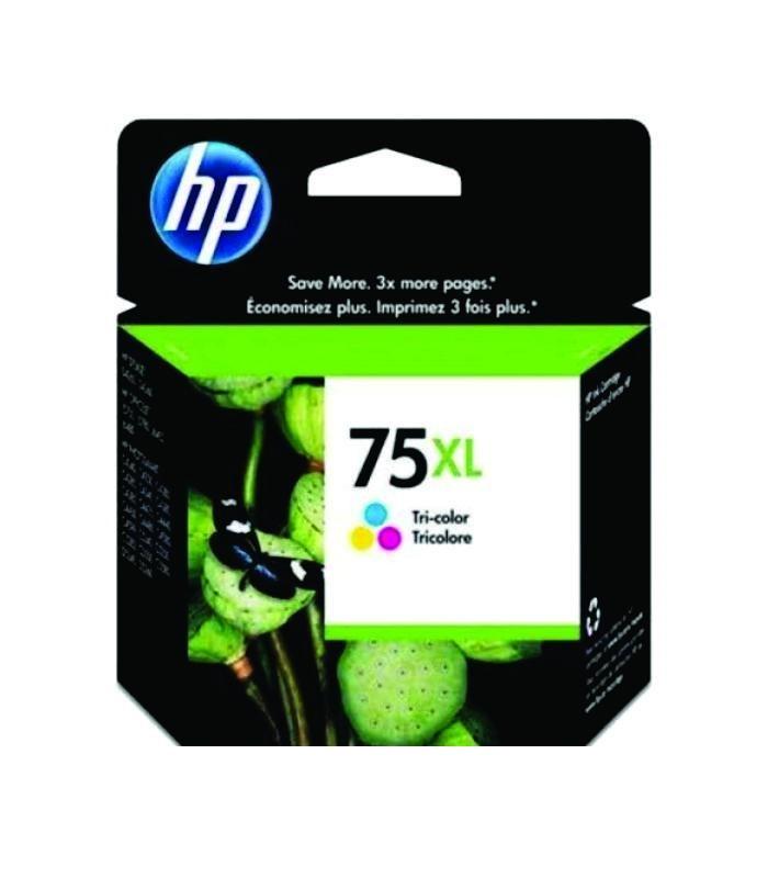HP - 75XL Tricolor Inkjet Print Cartridge [CB338WA]