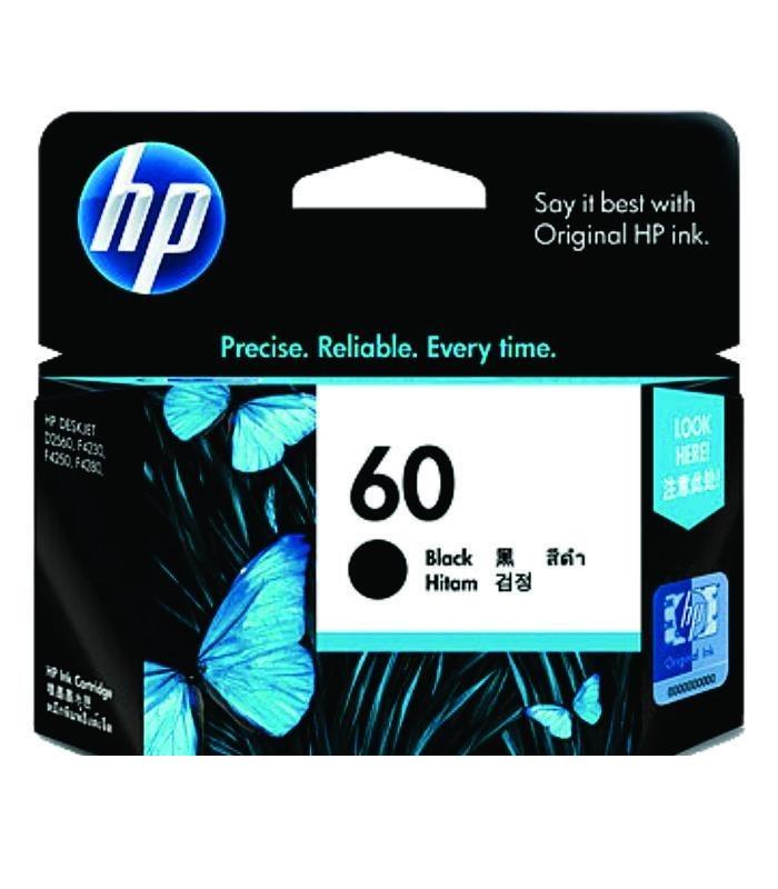 HP - 60 Black Ink Cartridge [CC640WA]