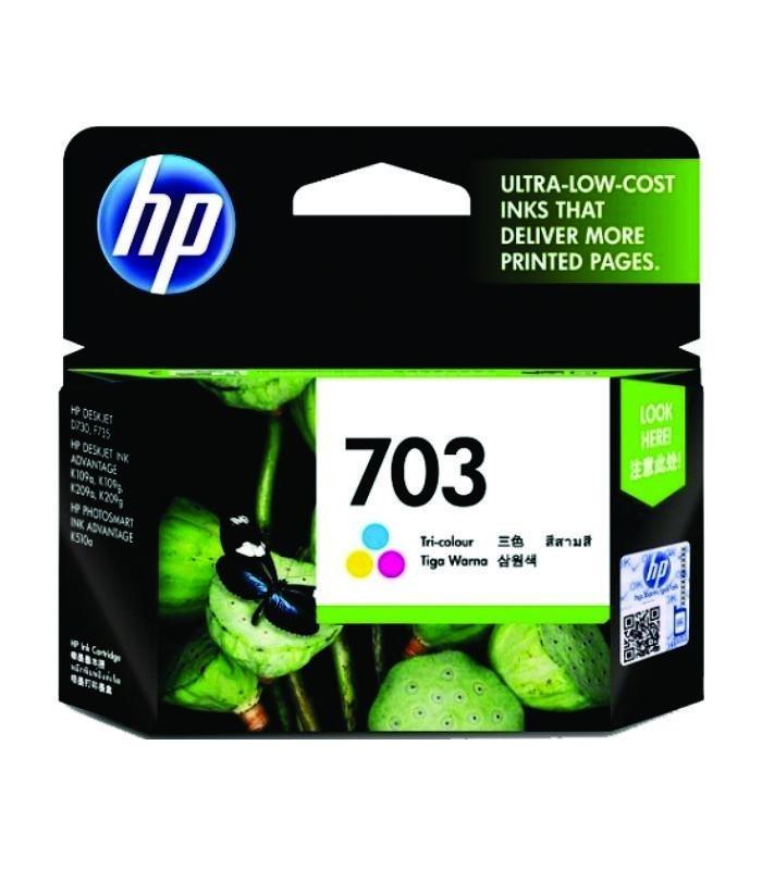 HP - Deskjet 703 Tri-color Ink Cartridge [CD888AA]