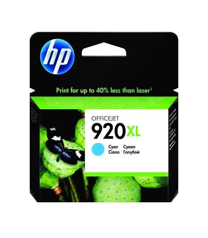 HP - 920XL Cyan Officejet Ink Cartridges [CD972AA]