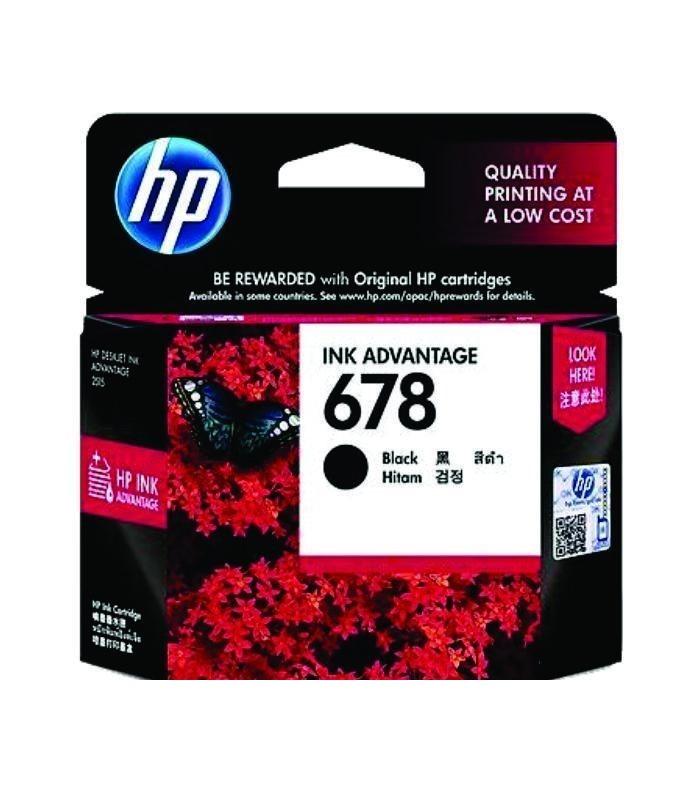 HP - 678 Black Ink Cartridge [CZ107AA]