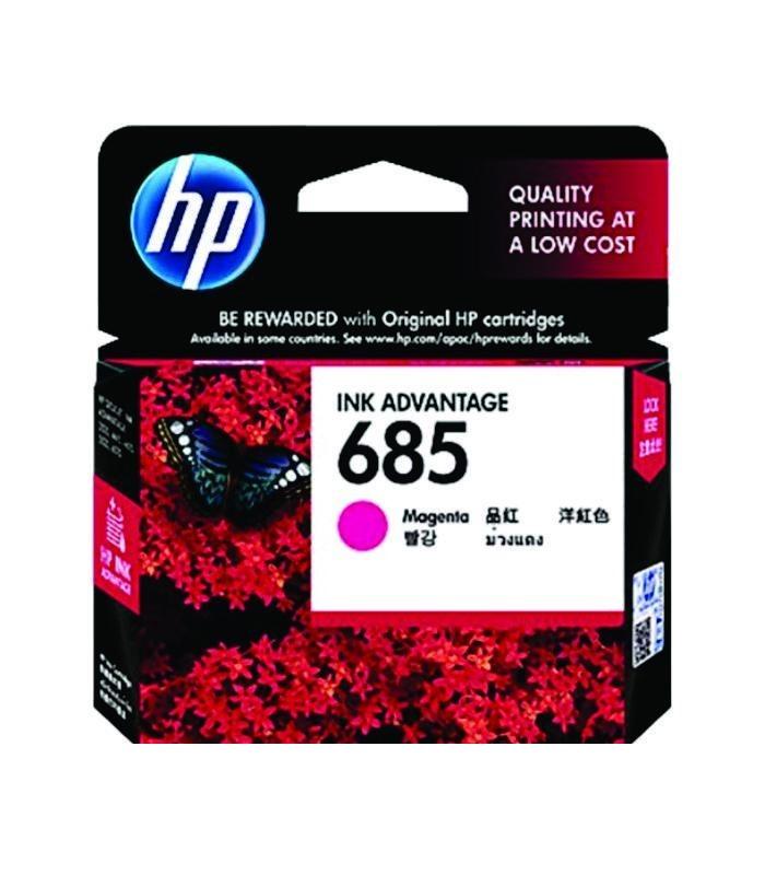 HP - 685 Magenta Ink Cartridge [CZ123AA]