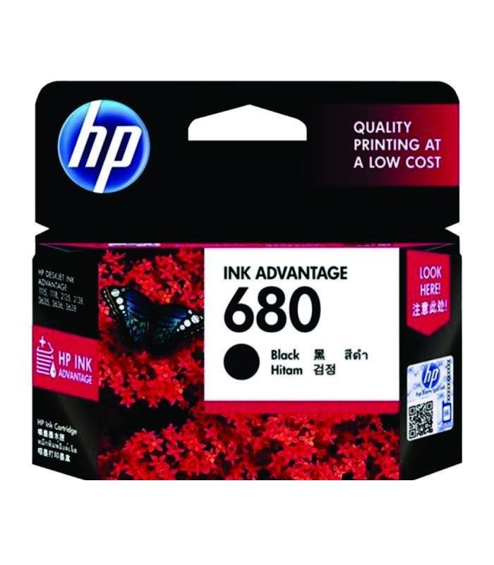 HP - 680 Black Ink Cartridge [F6V27AA]
