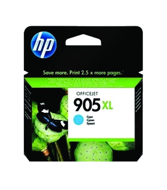 HP - 905XL Cyan Original Ink Cartridge [T6M05AA]