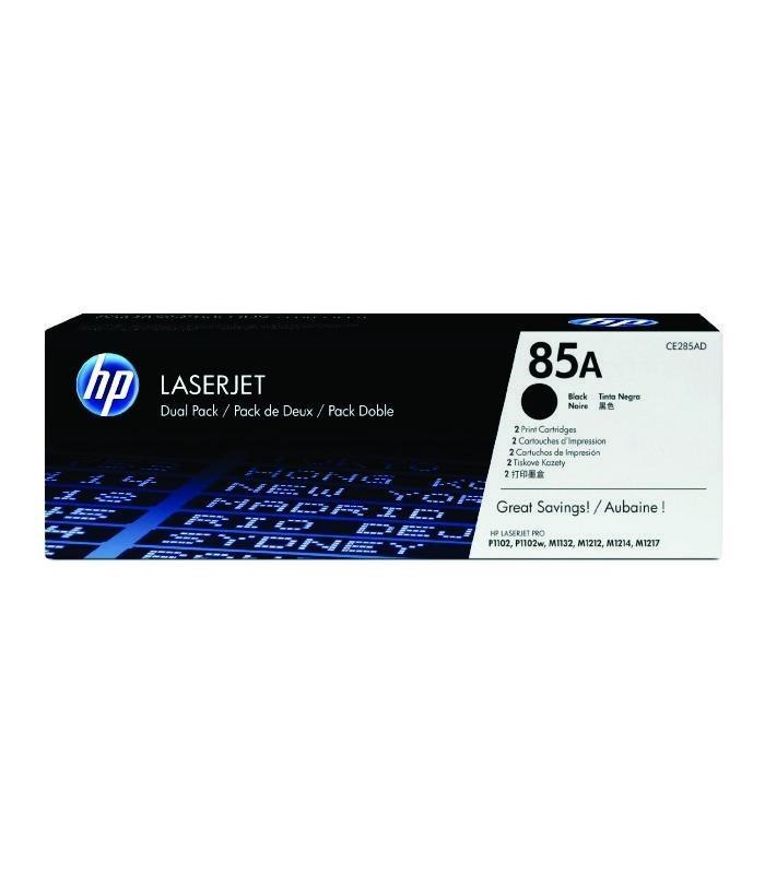 HP - 85A Blk Dual Pack LJ Toner Cartridge [CE285AD]