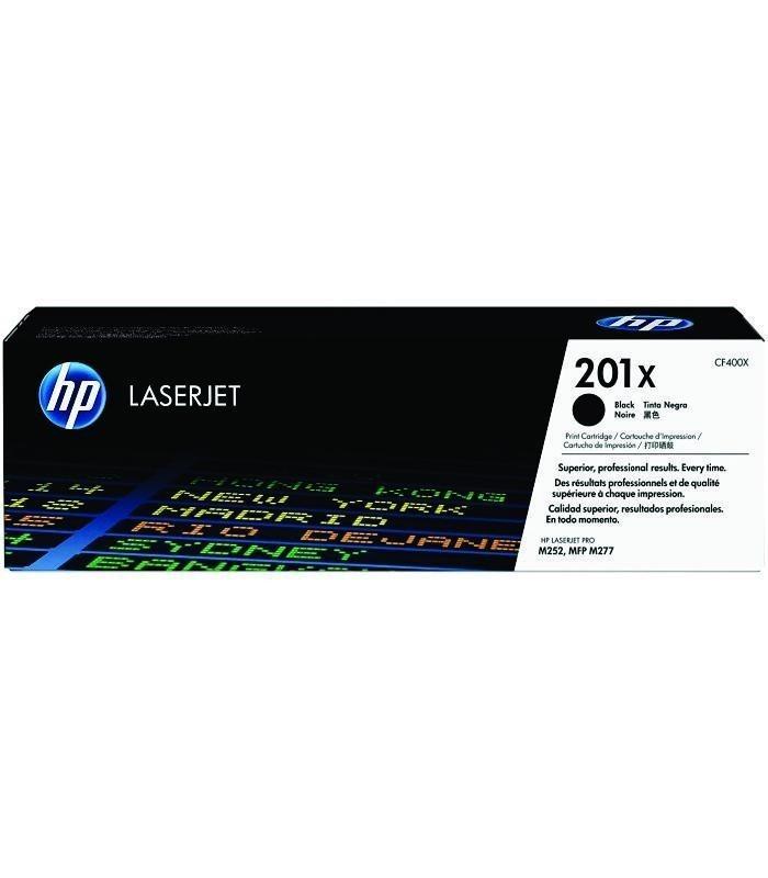 HP - 201X Black LaserJet Toner Cartridge [CF400X]