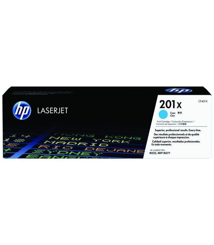 HP - 201X Cyan LaserJet Toner Cartridge [CF401X]
