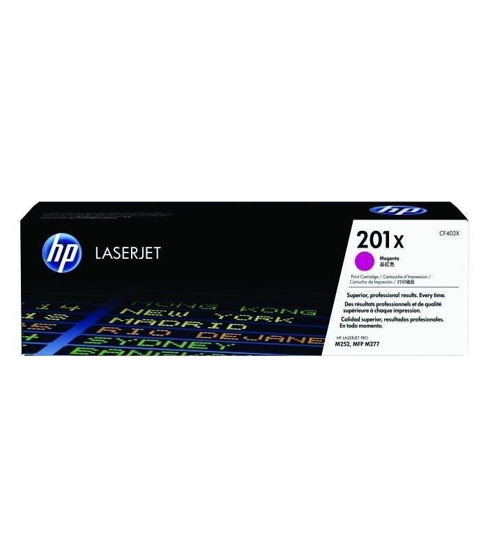 HP - 201X Magenta LaserJet Toner Cartridge [CF403X]
