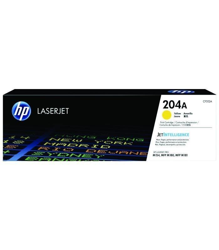 HP - 204A Yellow LaserJet Toner Cartridge [CF512A]