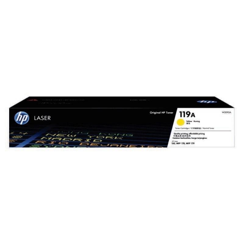 HP - 119A Yellow Original Laser Toner Cartridge [W2092A]