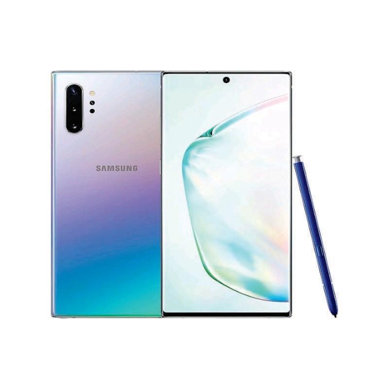 SAMSUNG - Galaxy Note 10+ 512 GB Aura Glow [SM-N975FZSGXID]
