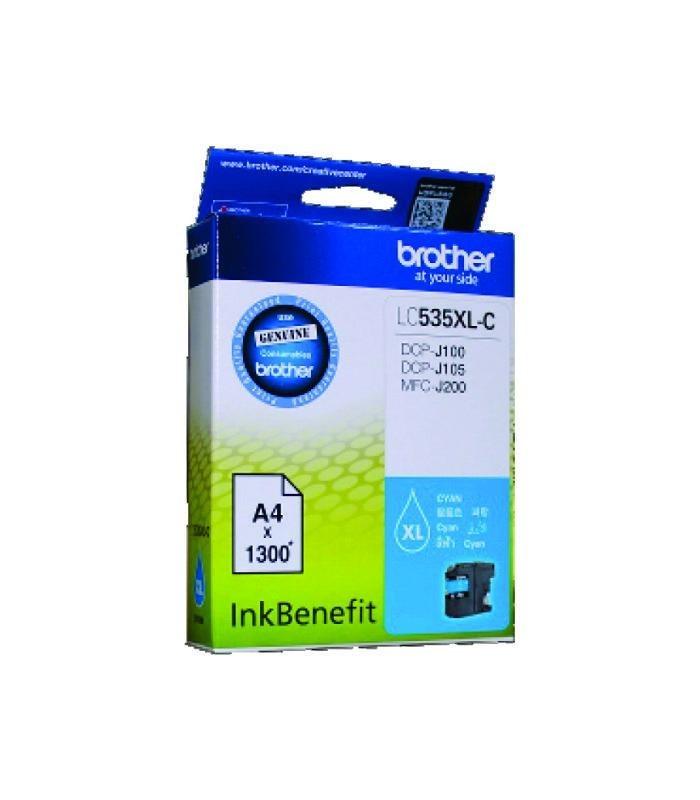 BROTHER - Cyan Ink Cartridge LC-535XLC