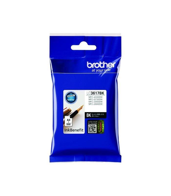 BROTHER - Black Ink LC-3617BK