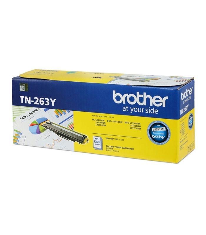 BROTHER - Yellow Toner Cartridge TN-263Y