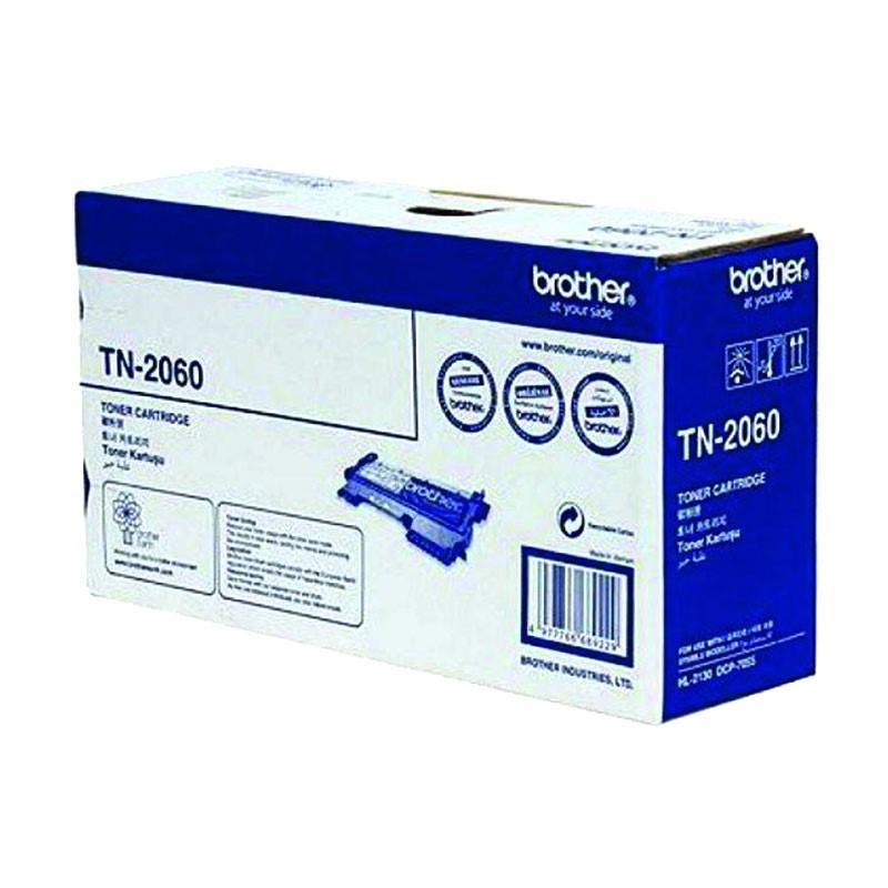 BROTHER - Black Toner Cartridge TN-2060