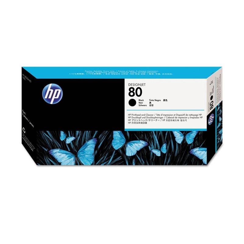 HP - No 80 Black Printhead [C4820A]