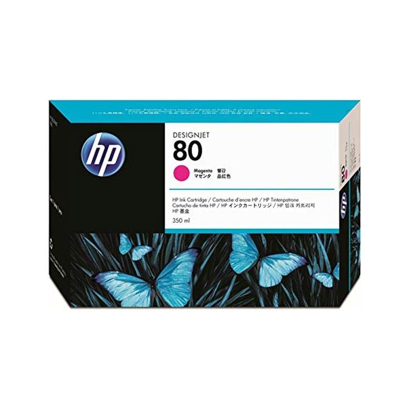 HP - No 80 Magenta Ink Cartridge, 350ml [C4847A]