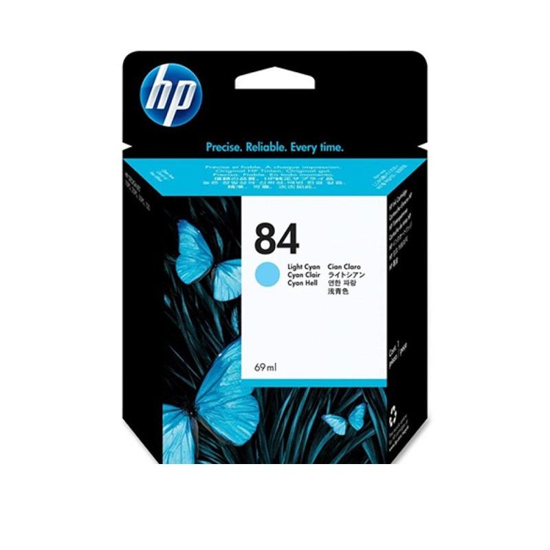 HP - 84 Light Cyan Ink Cartridge [C5017A]