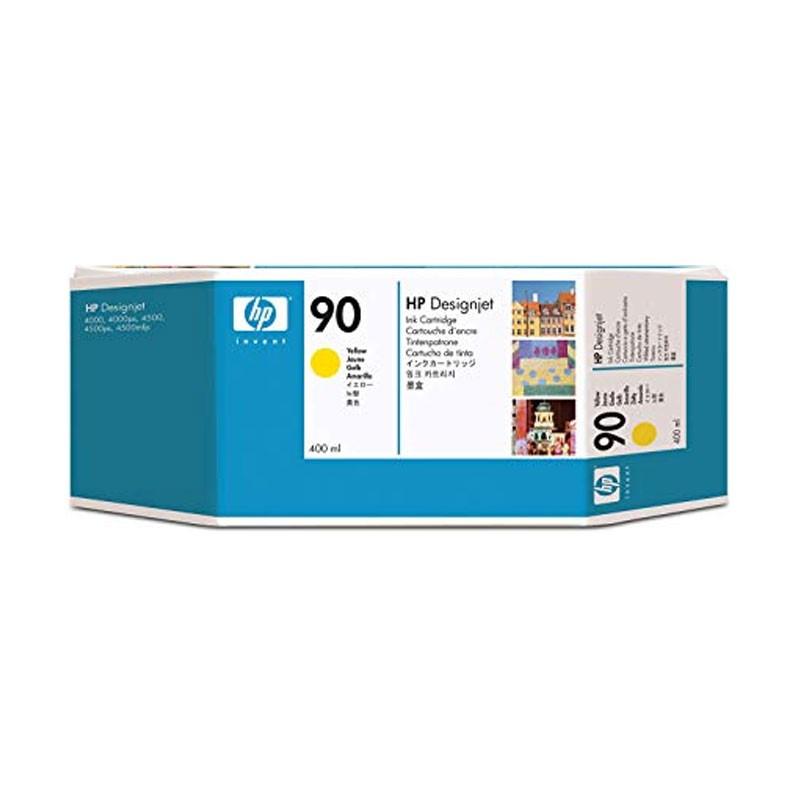HP - 90 Yellow 400 ml Ink Cartridge [C5065A]