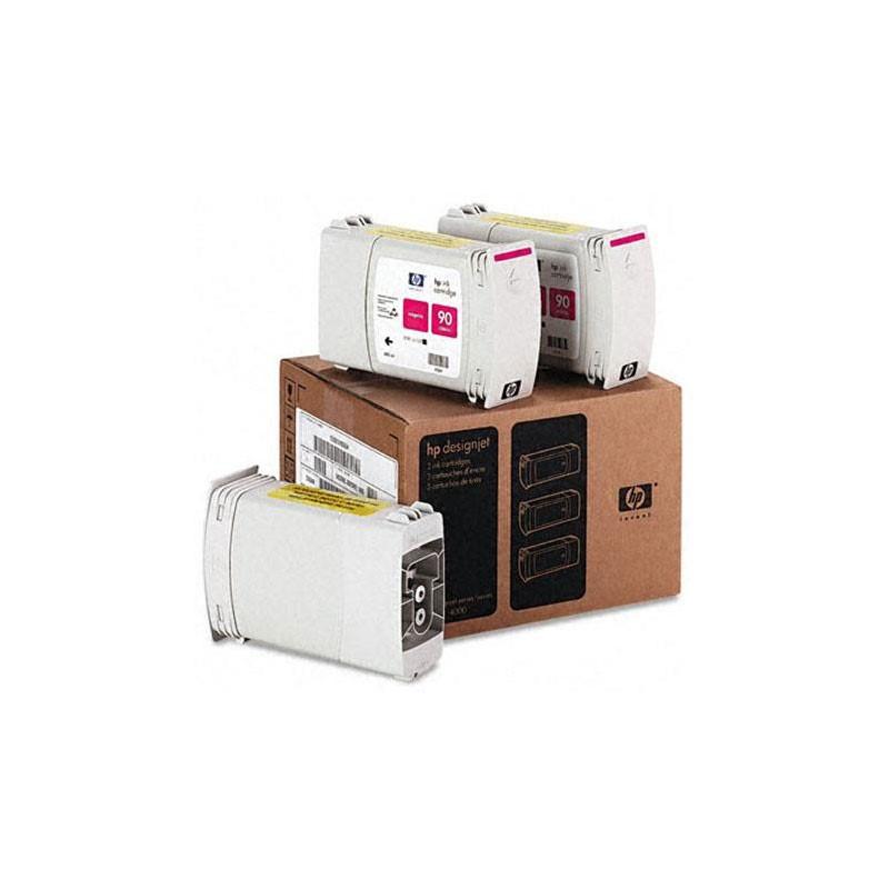 HP - 90 Magenta 3 Ink Cartridge Multi Pack [C5084A]